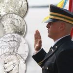 &#8220;Silver Dollar Salute&#8221; a big part of<br>military commissioning ceremonies