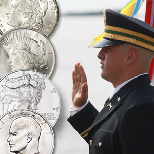 Silver Dollar Salute Ceremony - Littleton Coin Blog