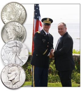 Silver Dollar Salute - Littleton Coin Blog