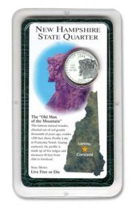 NH Statehood Quarter Showpak - Littleton Coin Blog
