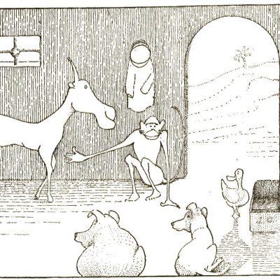 Dr. Dolittle's Pushmi-Pullyu animal - Littleton Coin Blog