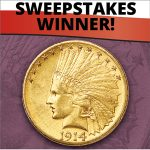 Announcing the winner of our 2017 Gold Coin Sweepstakes
