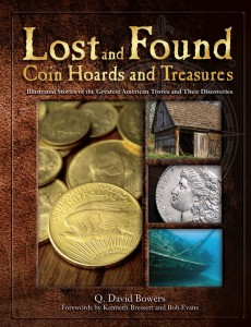 Lost and Found Coin Hoards and Treasures Book Cover - Littleton Coin Blog
