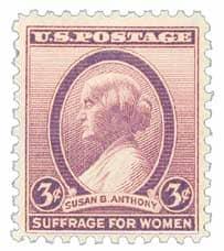 3-cent Susan B. Anthony stamp - Littleton Coin Blog