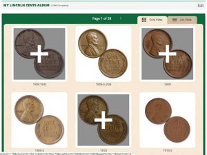 Virtual album Lincoln cent page - Littleton Coin Blog