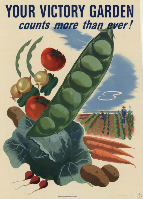 Victory gardens poster - Littleton Coin Blog