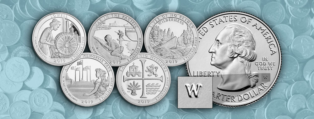 Have you found 'W' Mint Mark quarters yet? - Littleton Coin Company Blog