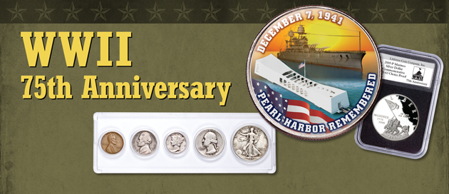 WWII 75th Anniversary Collectibles - Littleton Coin Blog