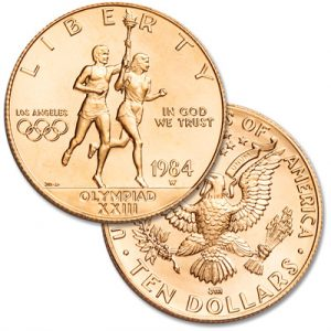 Olympics $10 Gold Commemorative - Littleton Coin Blog