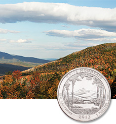 White Mountains National Park Quarter