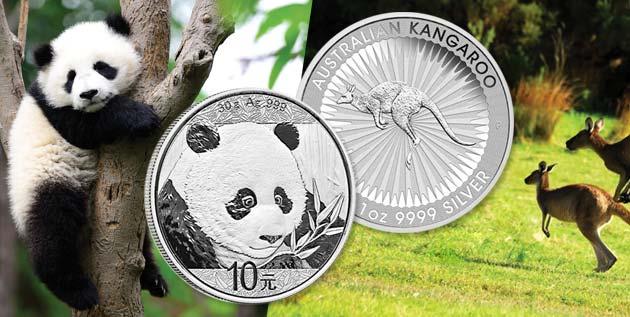 China Panda & Australia Kangaroo - Littleton Coin Blog