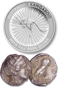 The Kangaroo & the Athenian Owl coin - Littleton Coin Blog