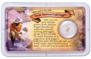 Gold Nugget - Littleton Coin Blog