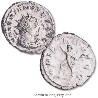 A.D. 253-260 Valerian I Silver Antoninianus - Littleton Coin Blog