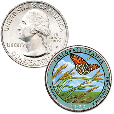 Bald Eagle, Regal Fritillary Butterfly, Sassafras and a Rotary Dial Telephone: Collecting Emily Damstra – Littleton Coin Company Blog