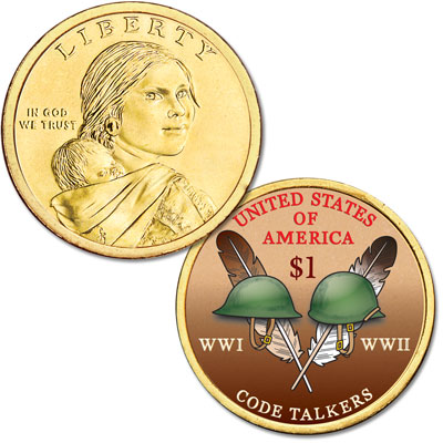 Sacred eagle feathers on 2021 dollar honor Native Americans – Littleton Coin Company Blog