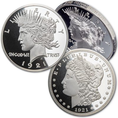 Celebrating a Silver Centennial – it's the 100th Anniversary of the Last Morgan & First Peace Dollar!– Littleton Coin Company Blog