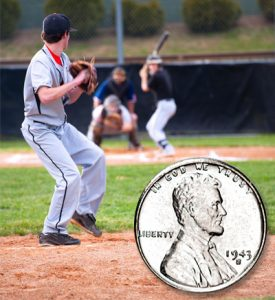 Baseball and Steel Cent - Littleton Coin Blog