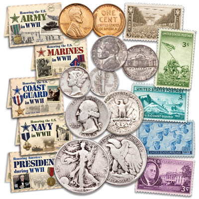 1945 U.S. coin set - Littleton Coin Blog