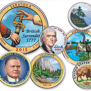 Littleton Coin Blog - Colorized Coins