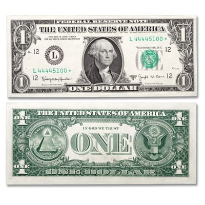 Move over, error coins…Star notes are highly collectible, too! - Littleton Coin Company Blog