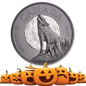 Nocturnal Wolf coin - Littleton Coin Blog