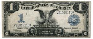 Silver Certificate - Black Eagle