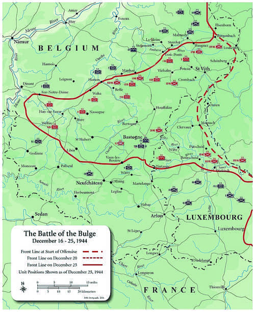 The Game-Changing Battle of the Bulge