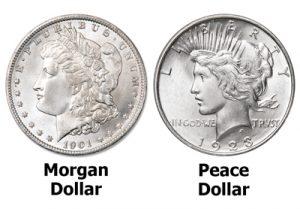 Morgan dollar & Peace dollar - Littleton Coin Blog