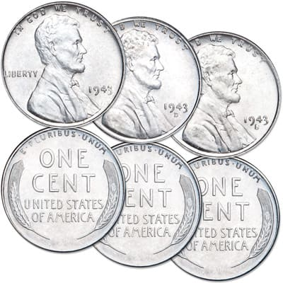 1943 Lincoln cents - Littleton Coin Blog