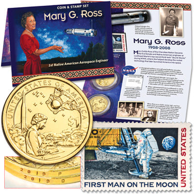 2019 Space Program Coin & Stamp Set - Littleton Coin Blog