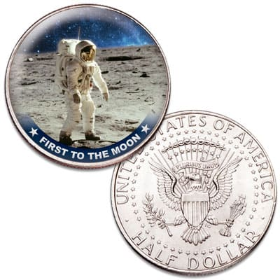 First to the Moon - Littleton Coin Blog