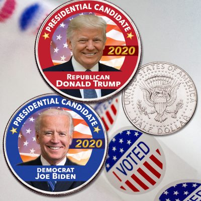 Whether you choose Red or Blue, go cast your vote in Election 2020 – Littleton Coin Company Blog