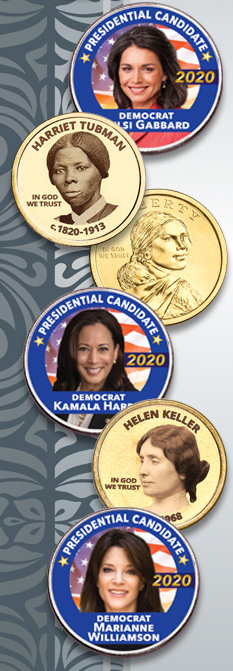 Prominent Women, Candidate Coins and Sacagawea - Littleton Coin Blog