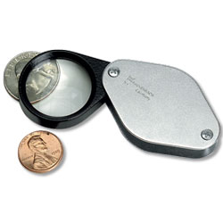 5X German Folding Pocket Magnifier - Littleton Coin Blog