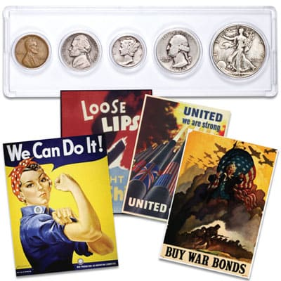 1945 Year Set with FREE Posters - Littleton Coin Blog